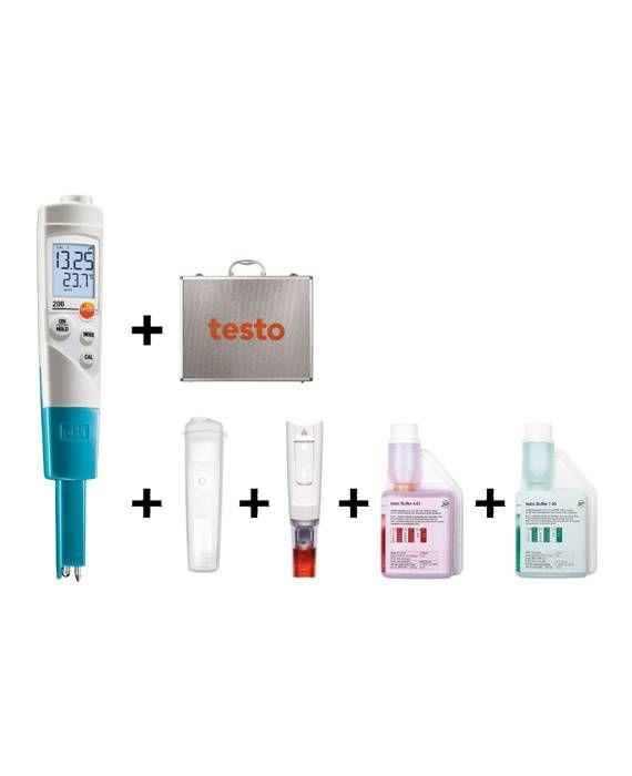 Kit de démarrage appareil de mesure du pH et de la température pour liquides