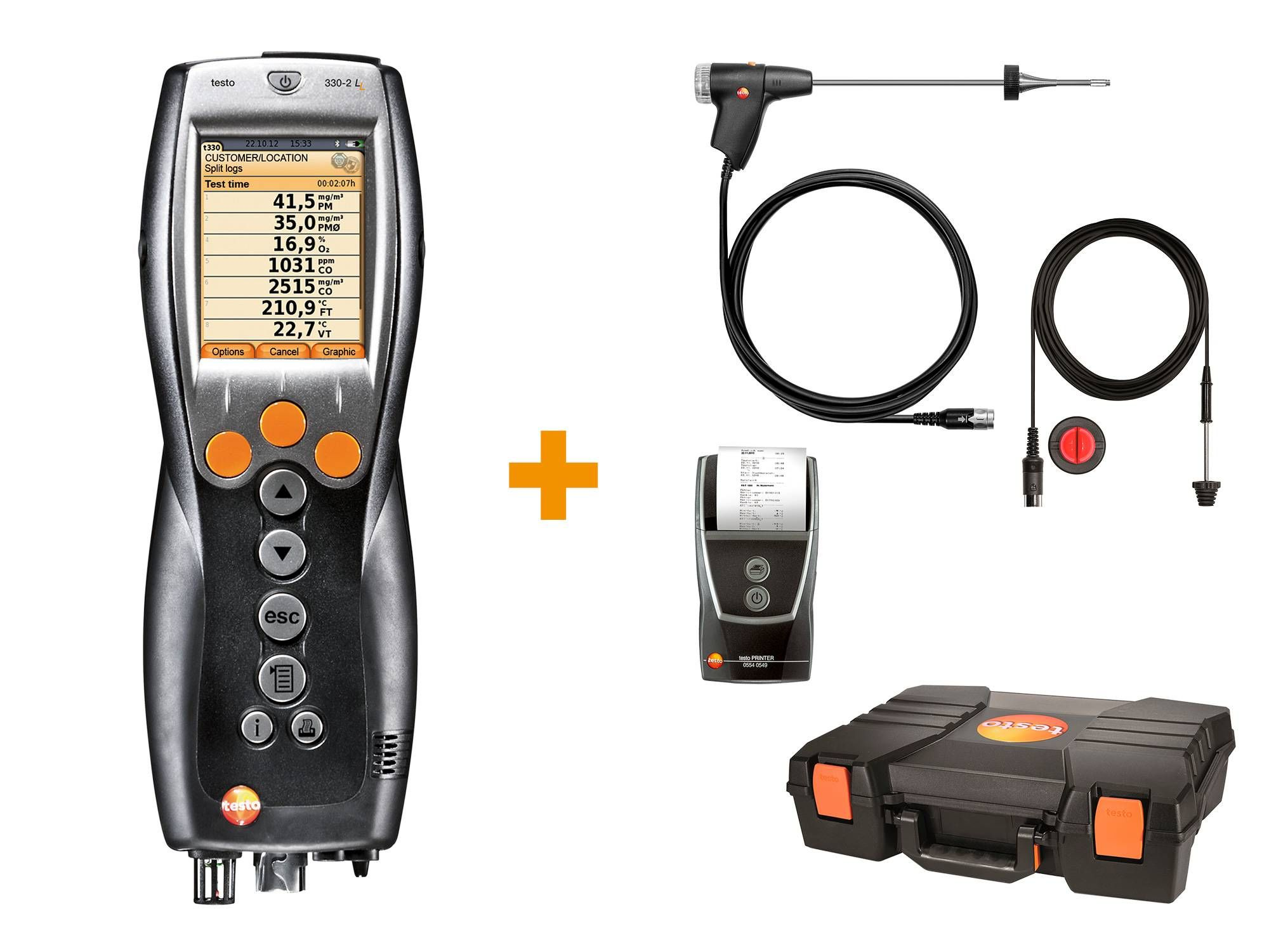 testo 330-2 LL heating constructor's set