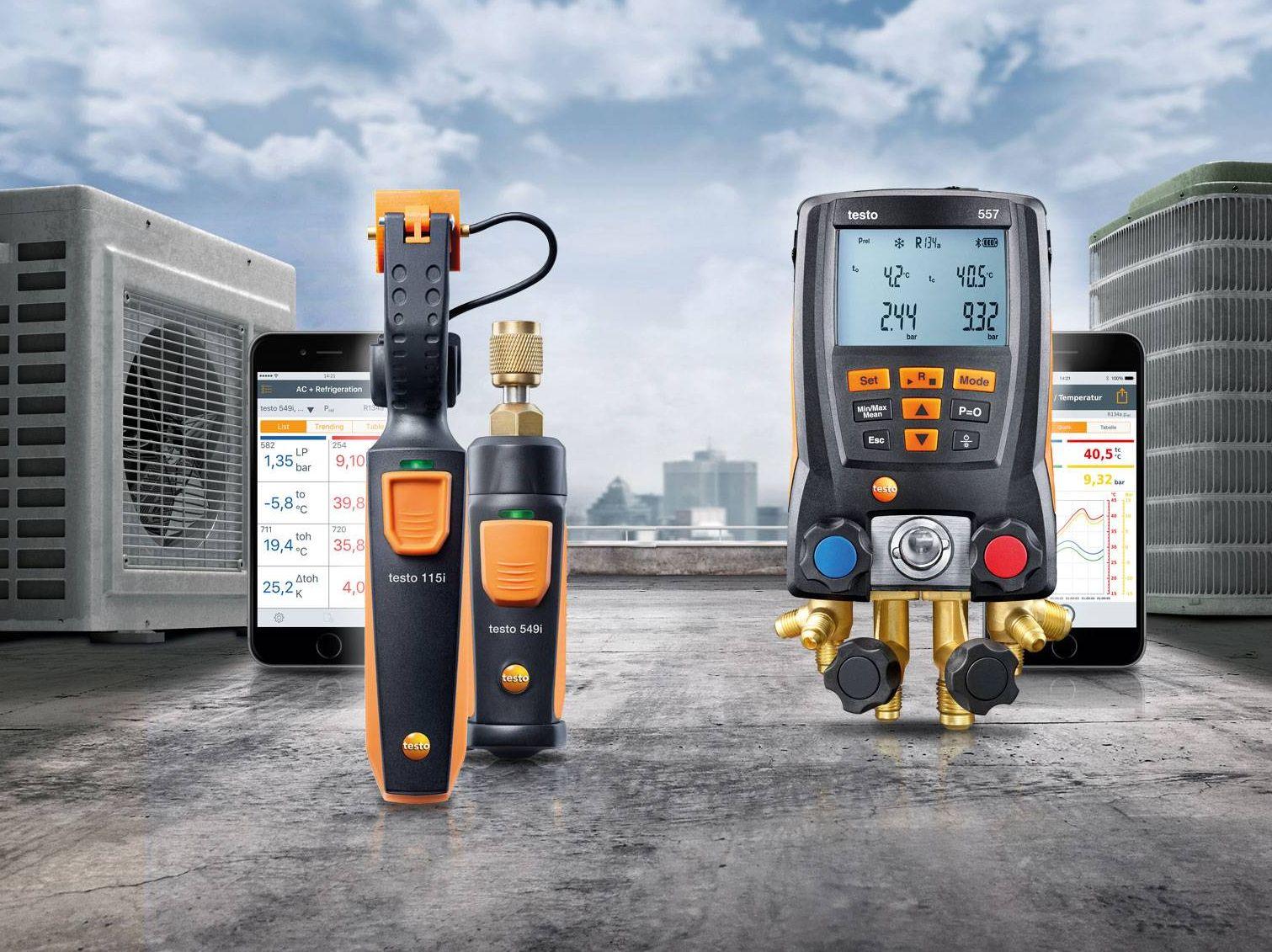 Instrumentos para sistemas de frío