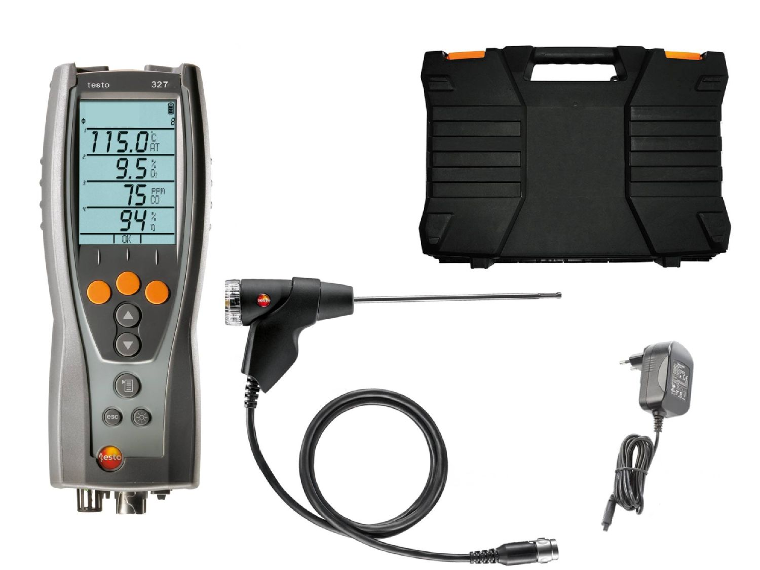 Flue Gas Analyser Printer Kit testo 310