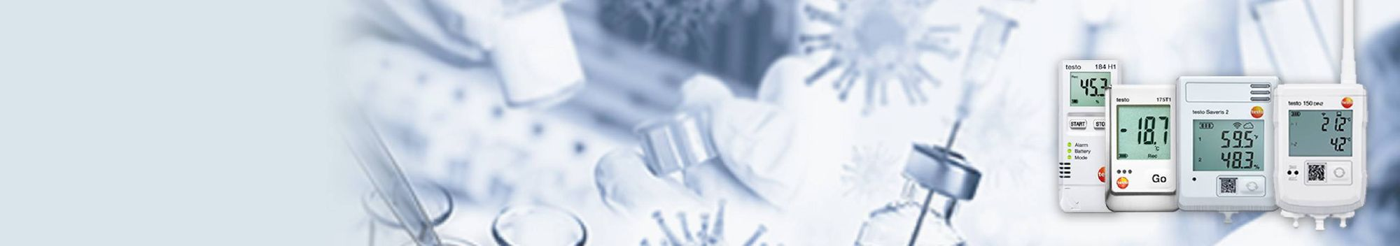 <b>백신의 안전한 운송&bull;보관</b>을 <br /> 위한 테스토 측정 솔루션