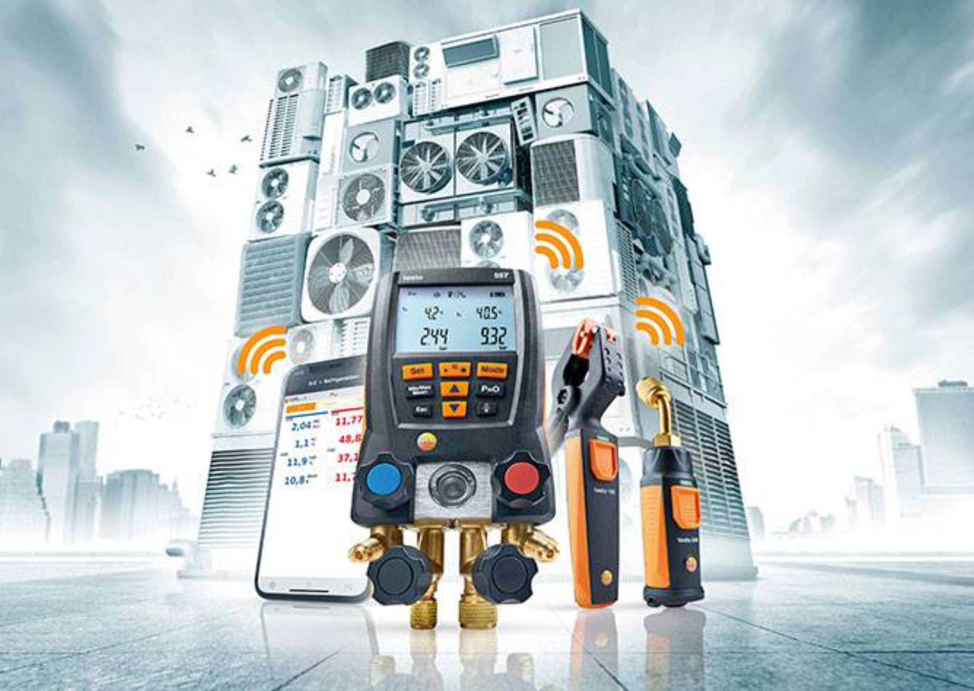 Professional mould risk detection with Testo