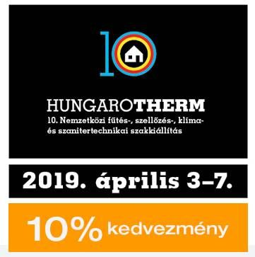 hungarotherm 2019 kedvezmény