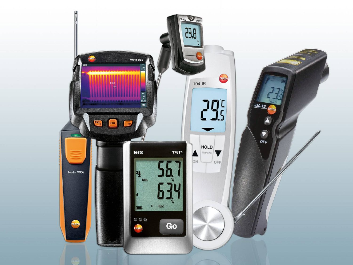 More measuring instruments for temperature measurement