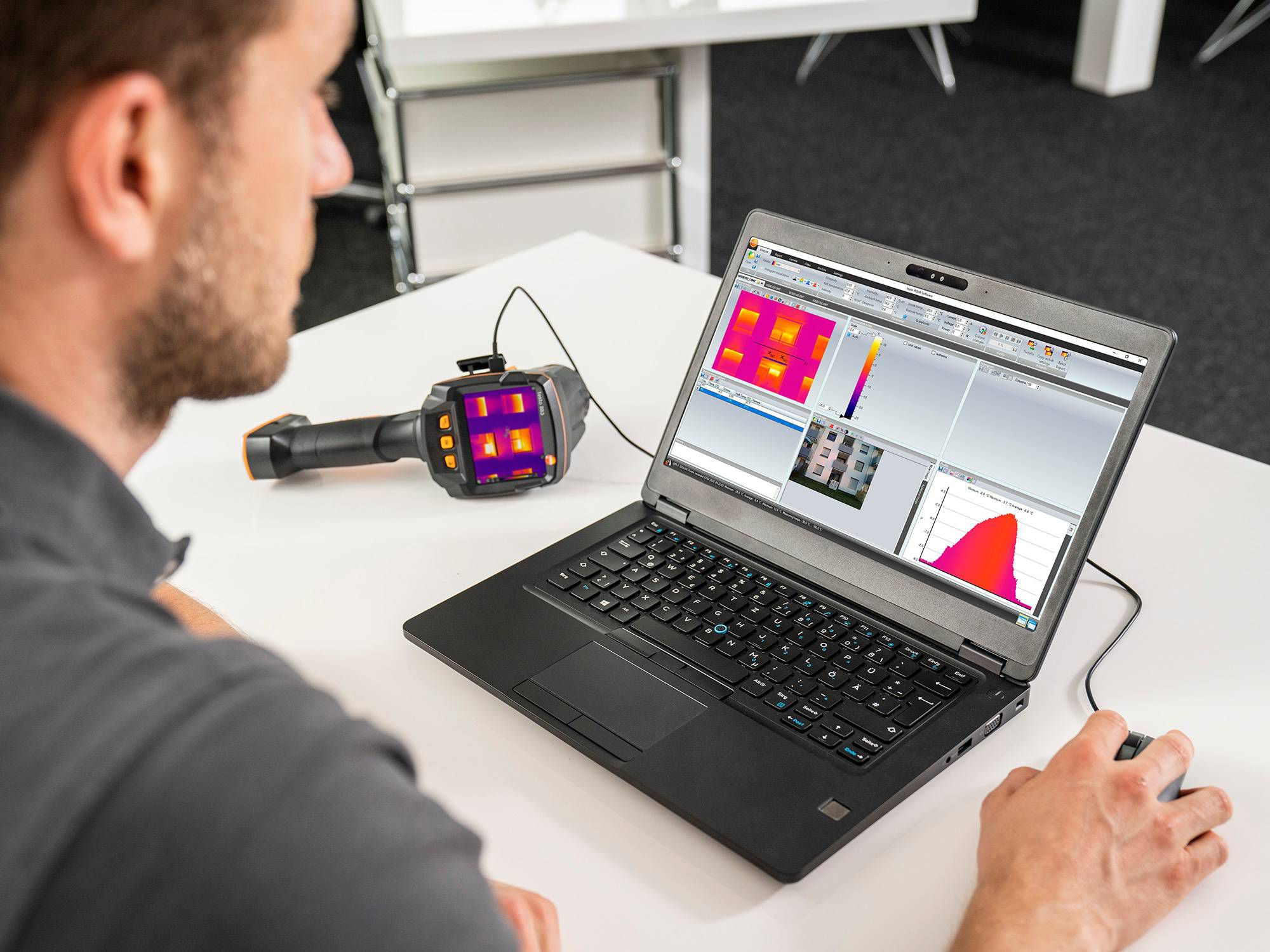 Analysis software for thermography
