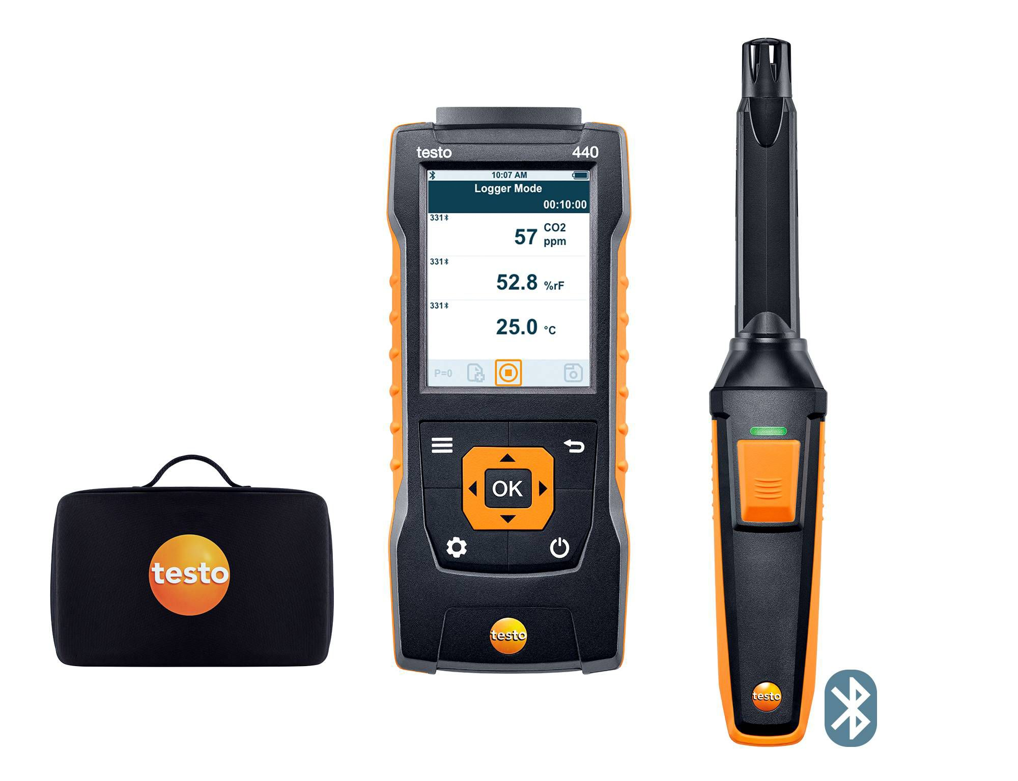 testo 440 CO2-Set mit Bluetooth®