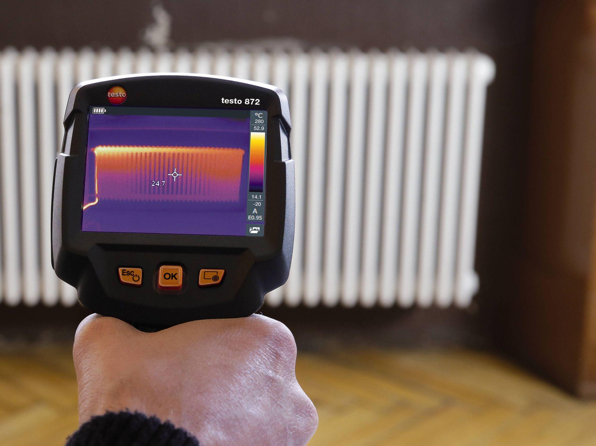 Thermografie - Testo Wärmebildkameras bieten viele Einsatzmöglichkeiten