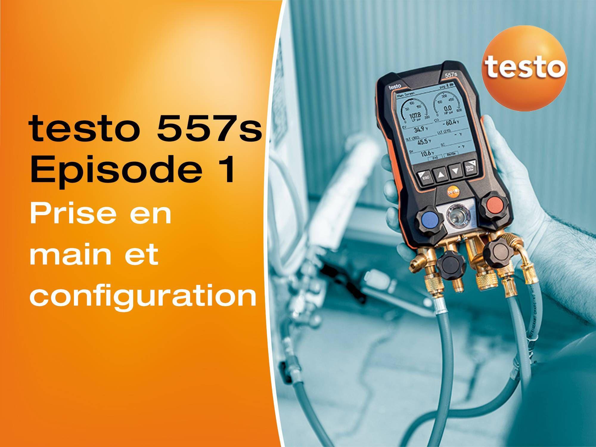 Tutoriel vidéo prise en main de nouveau manomètre digital testo 557s