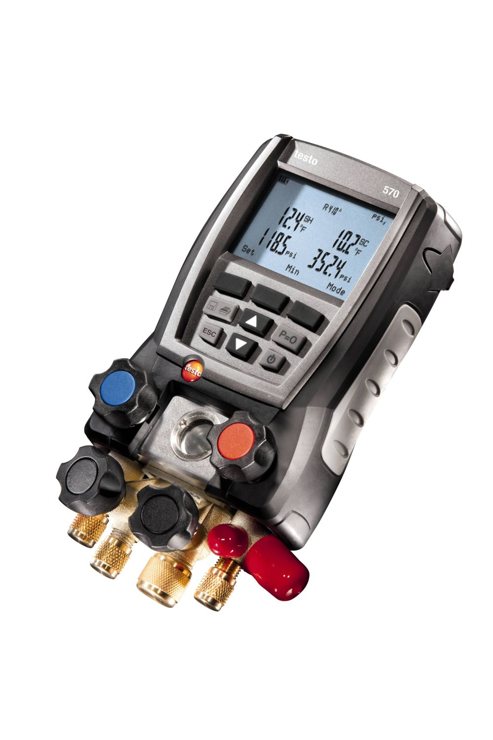 testo 570 Digital Manifold | Refrigeration | Parameters
