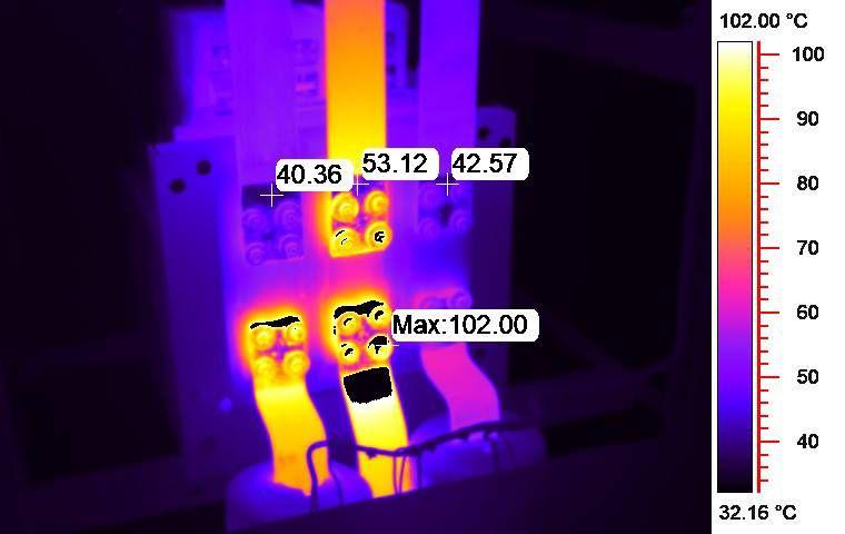 testo 890 - termografia morsetti