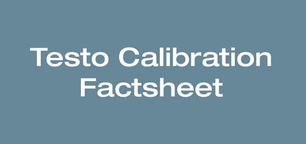Calibration Fact Sheet