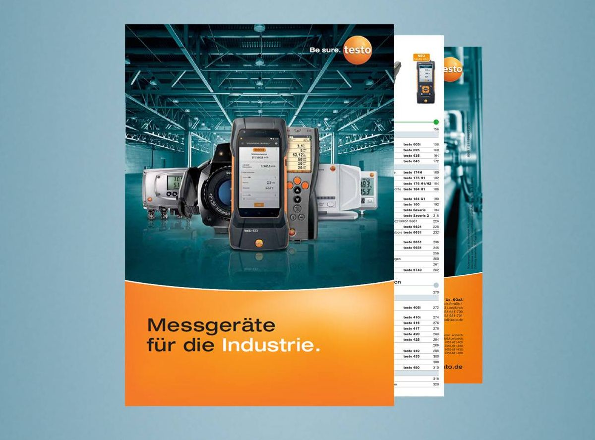 Testo Industrie-Katalog
