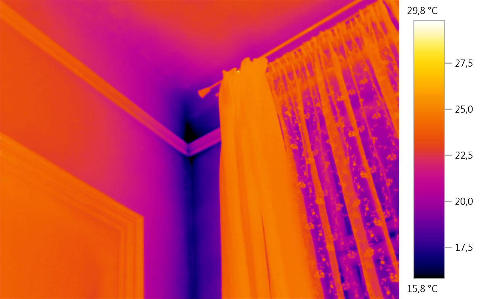 Thermal image thermal bridges