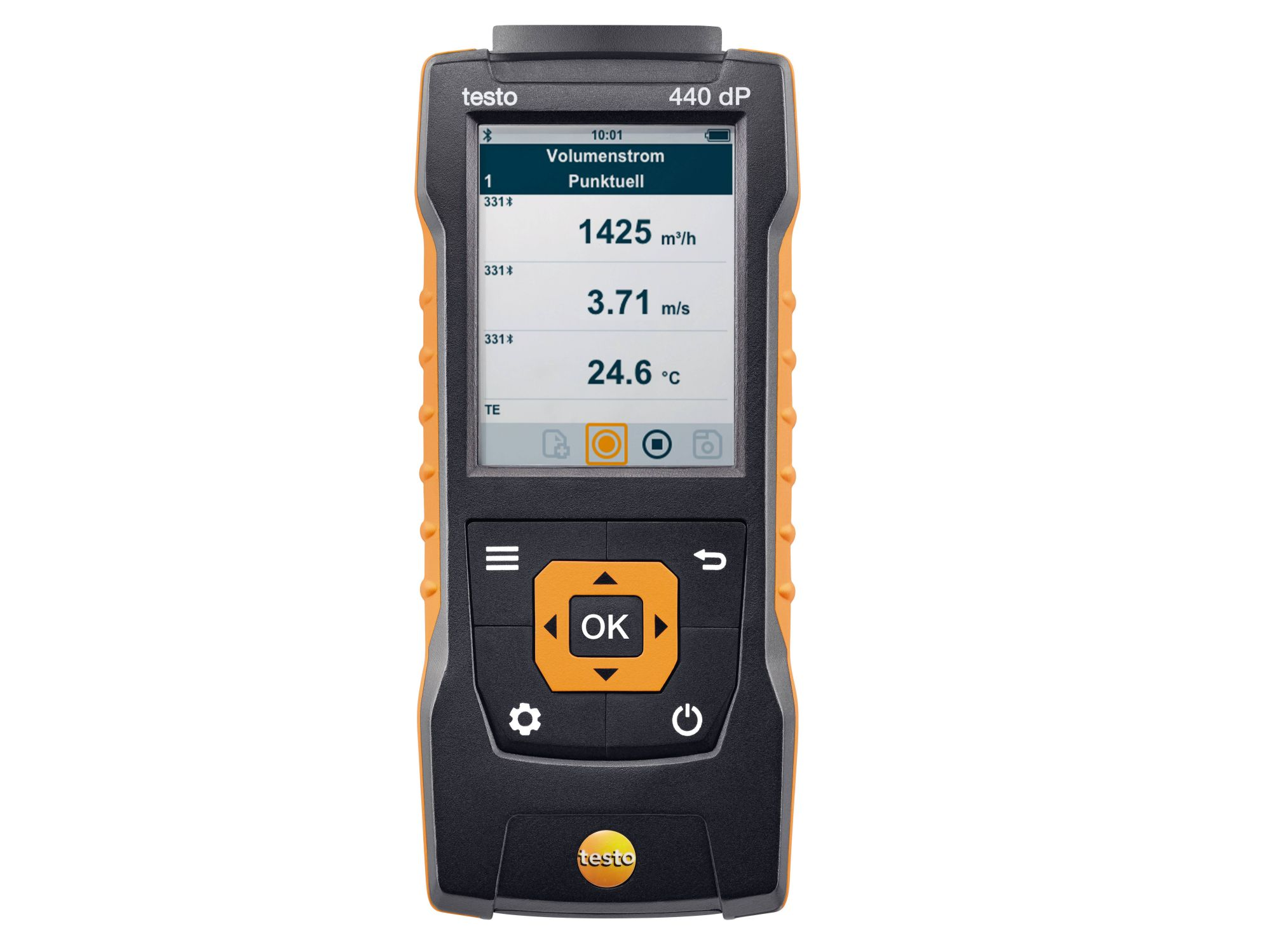 testo 440 dP Klimamessgerät inkl. Differenzdrucksensor