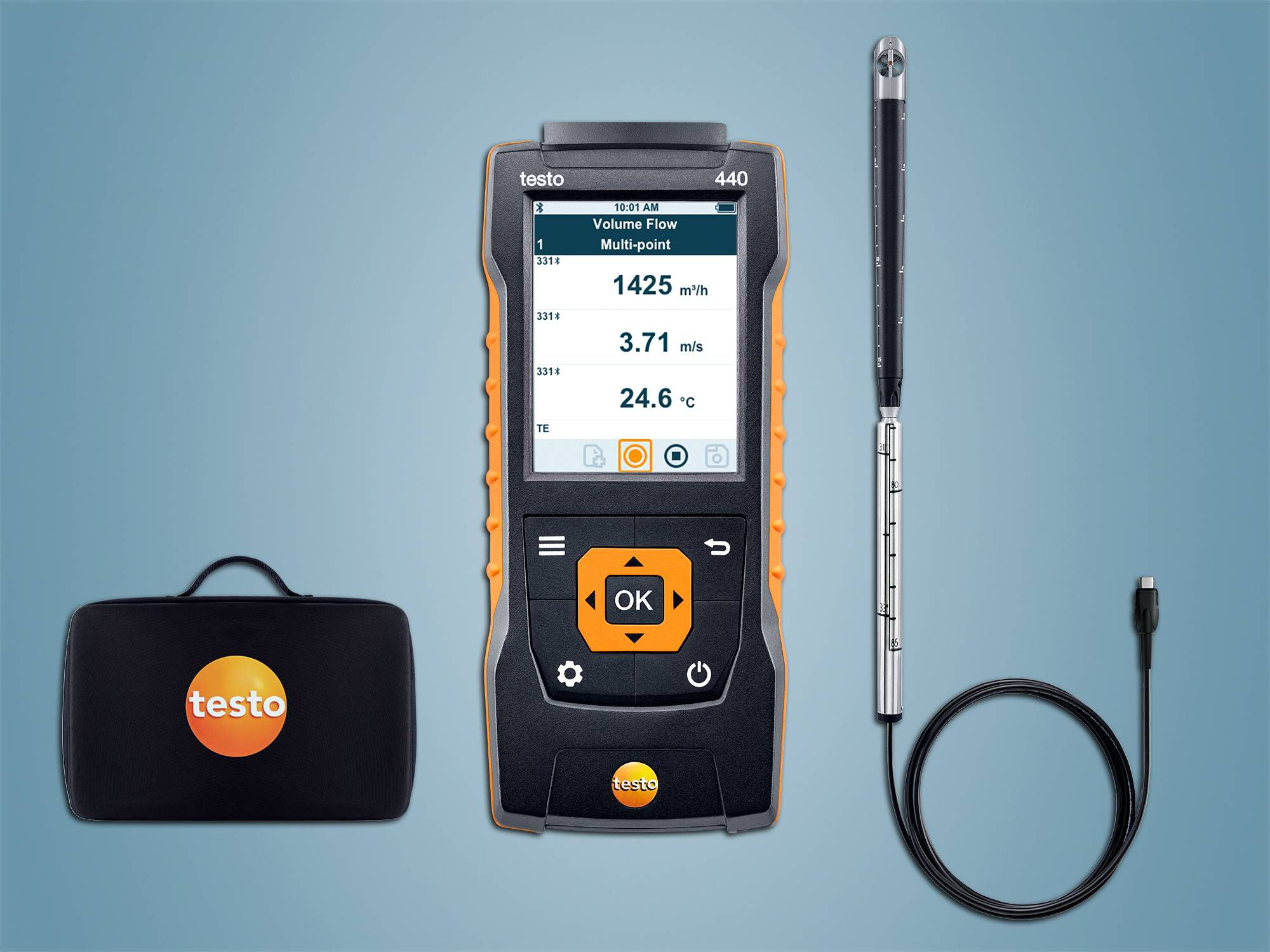 testo 440 16 mm-vleugelrad-set