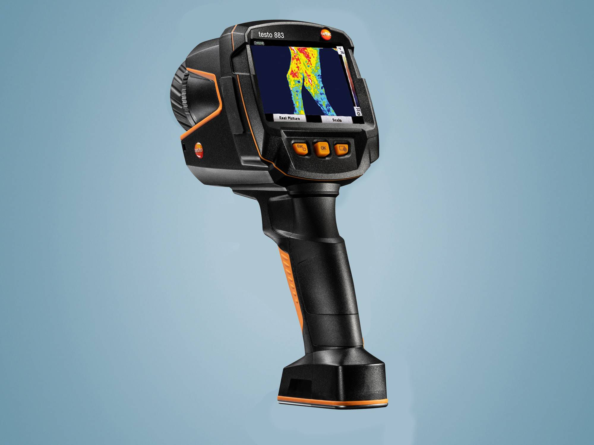 Wärmebildkamera - testo 883