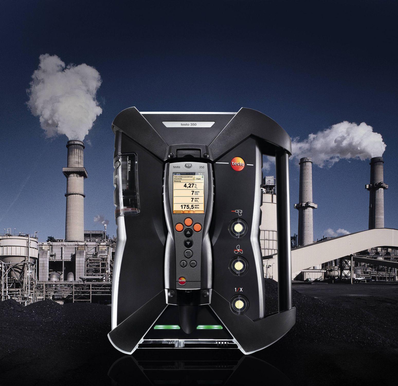 testo 350 combustion analyser
