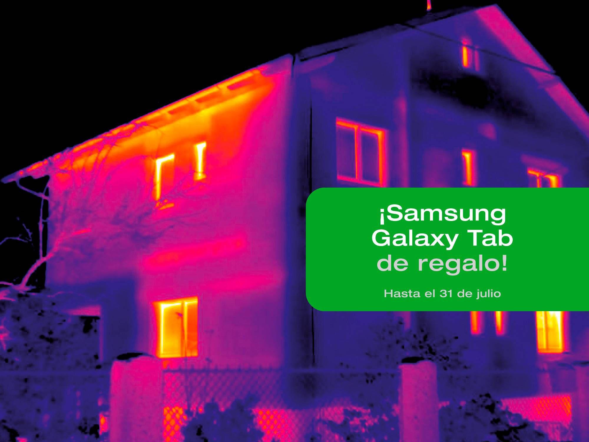 Termografía testo de un edificio