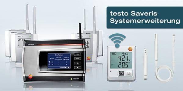 testo Saveris Systemerweiterung - Datenübertragung per WLAN
