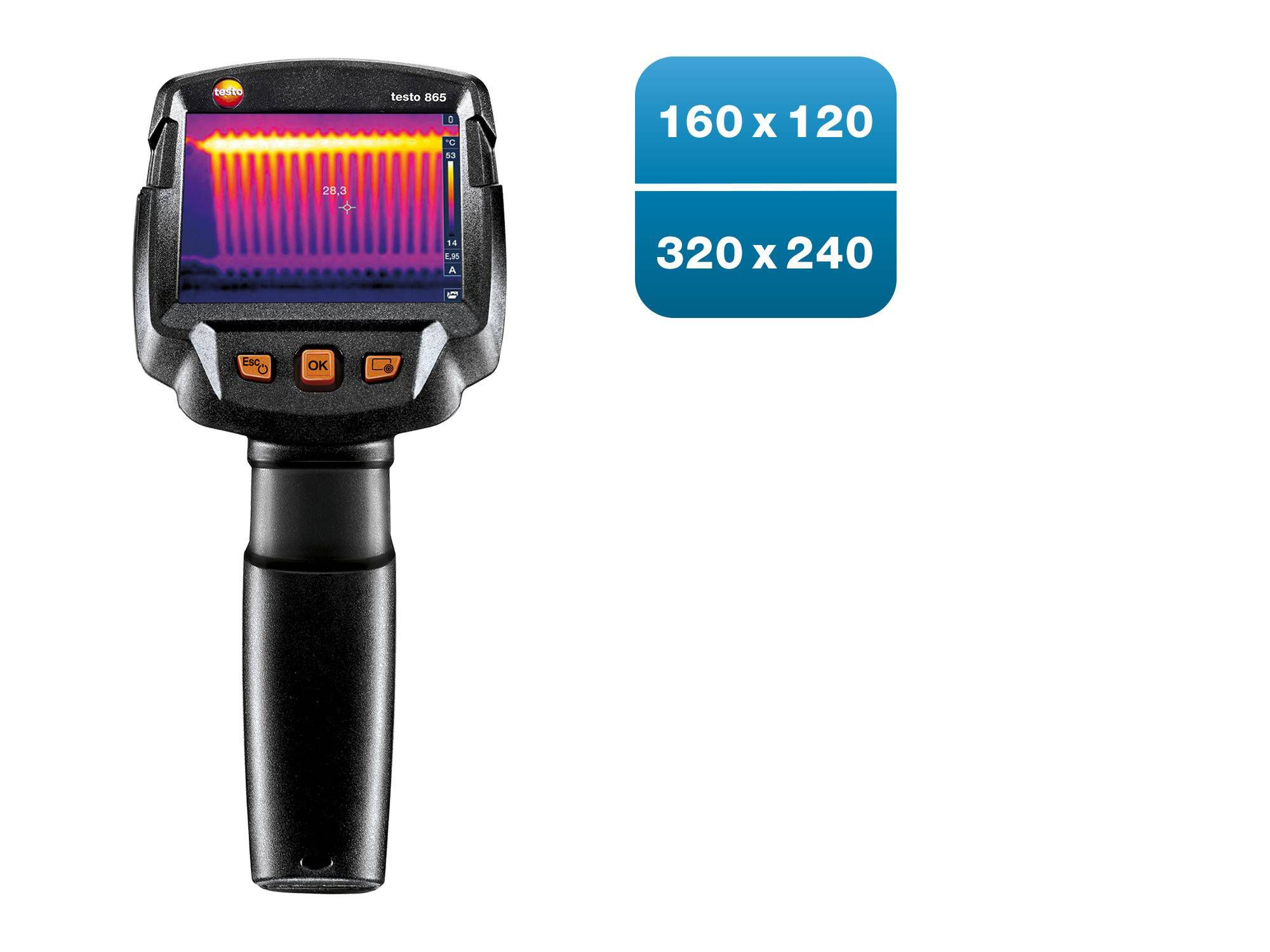 testo865: Switch on, point, know more.