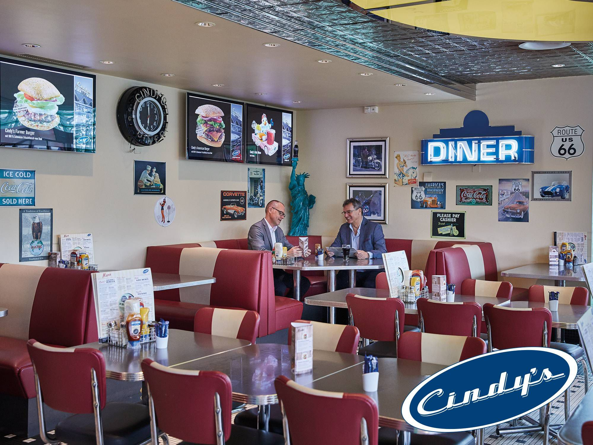 Restaurante Cindy's Diner