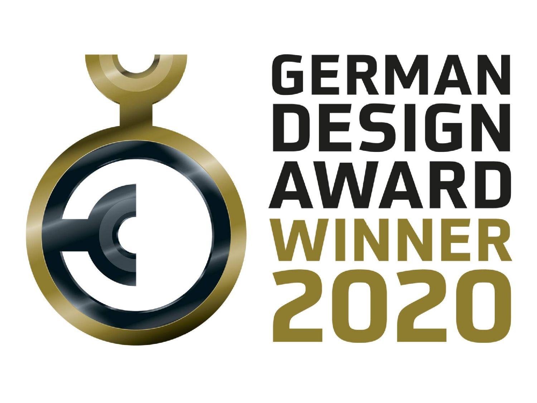 Ganador del premio alemán al diseño German Design Award 2020