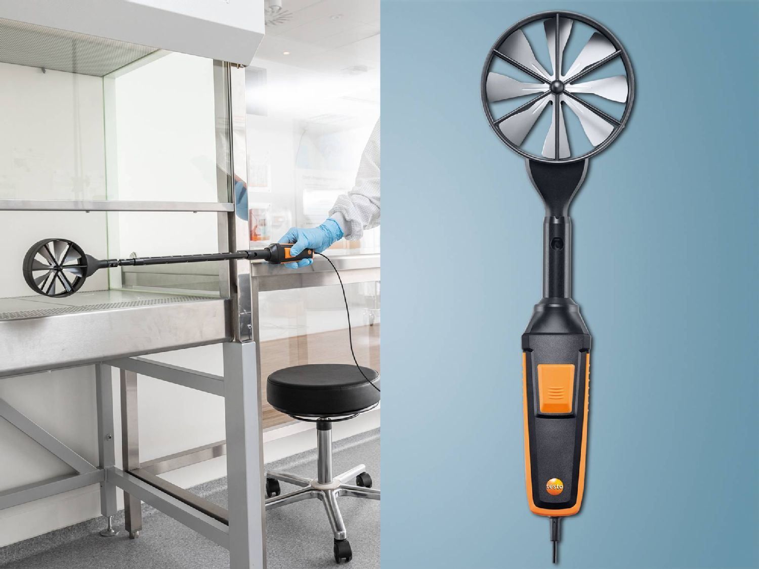 testo 440 high-precision vane probe