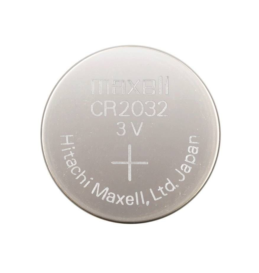 Pila tipo botón CR2032