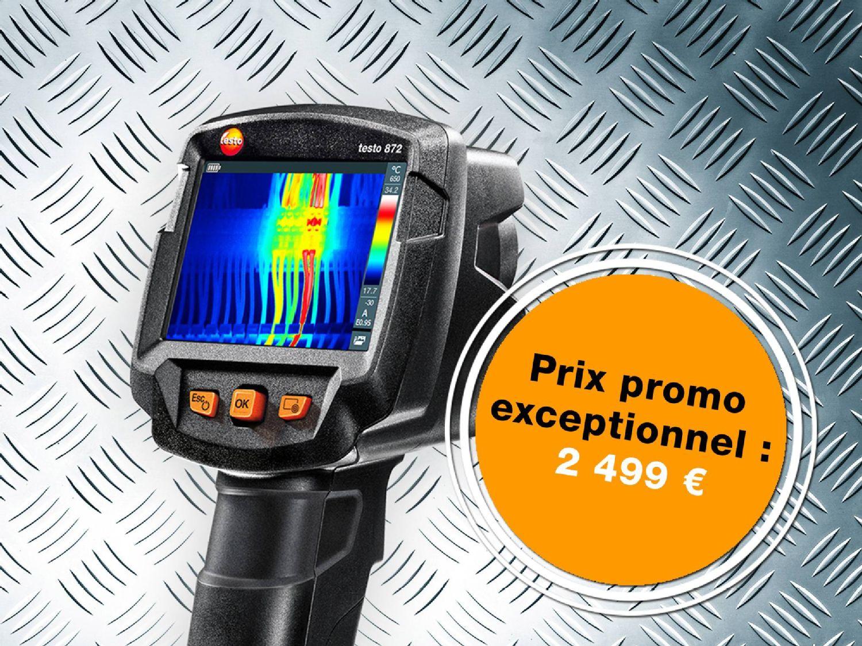 Offre promotionnelle caméra thermique testo 872