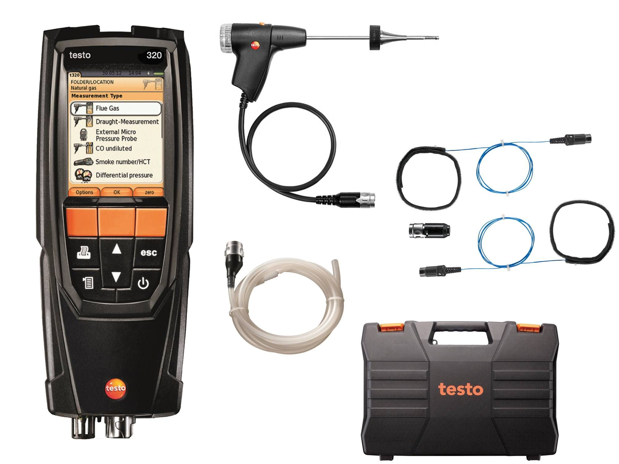 testo 320 Advanced Set