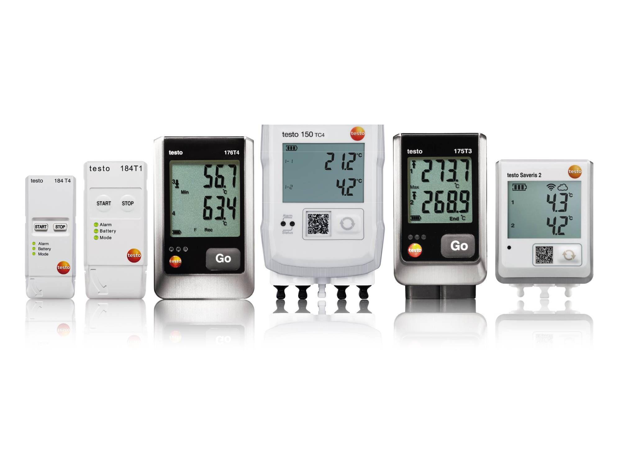 Registradores de temperatura