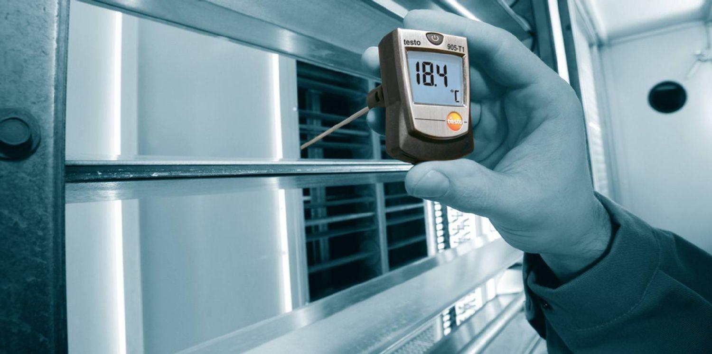 Einstech-Thermometer testo 905-T1