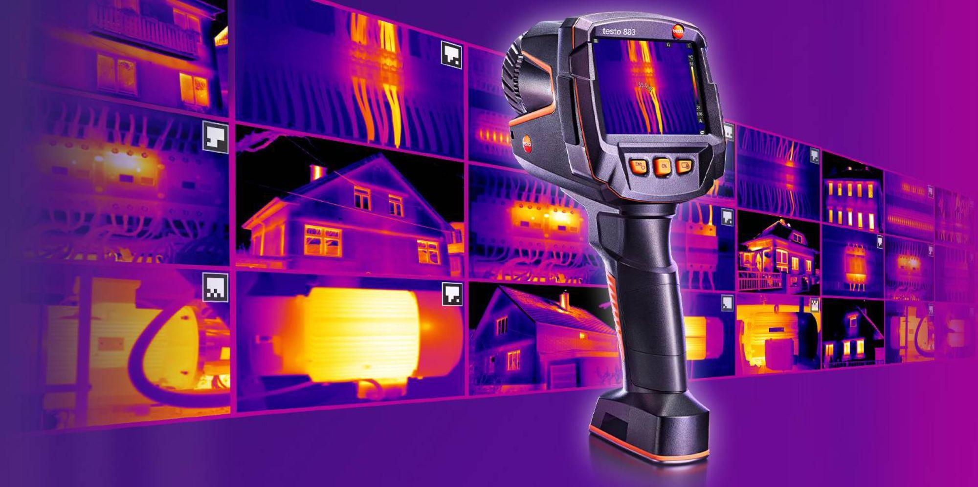 NEU: Wärmebildkamera testo 883