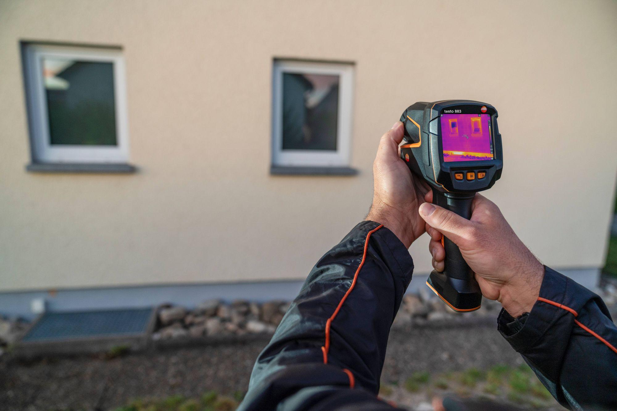 Thermal imager testo 872