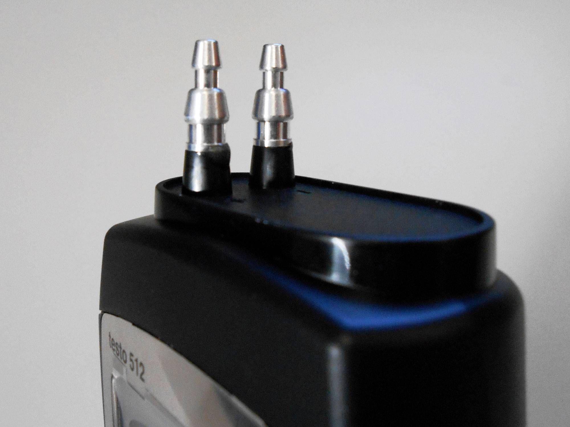 Testo 512 0 a 2000 hPa detalle boquillas