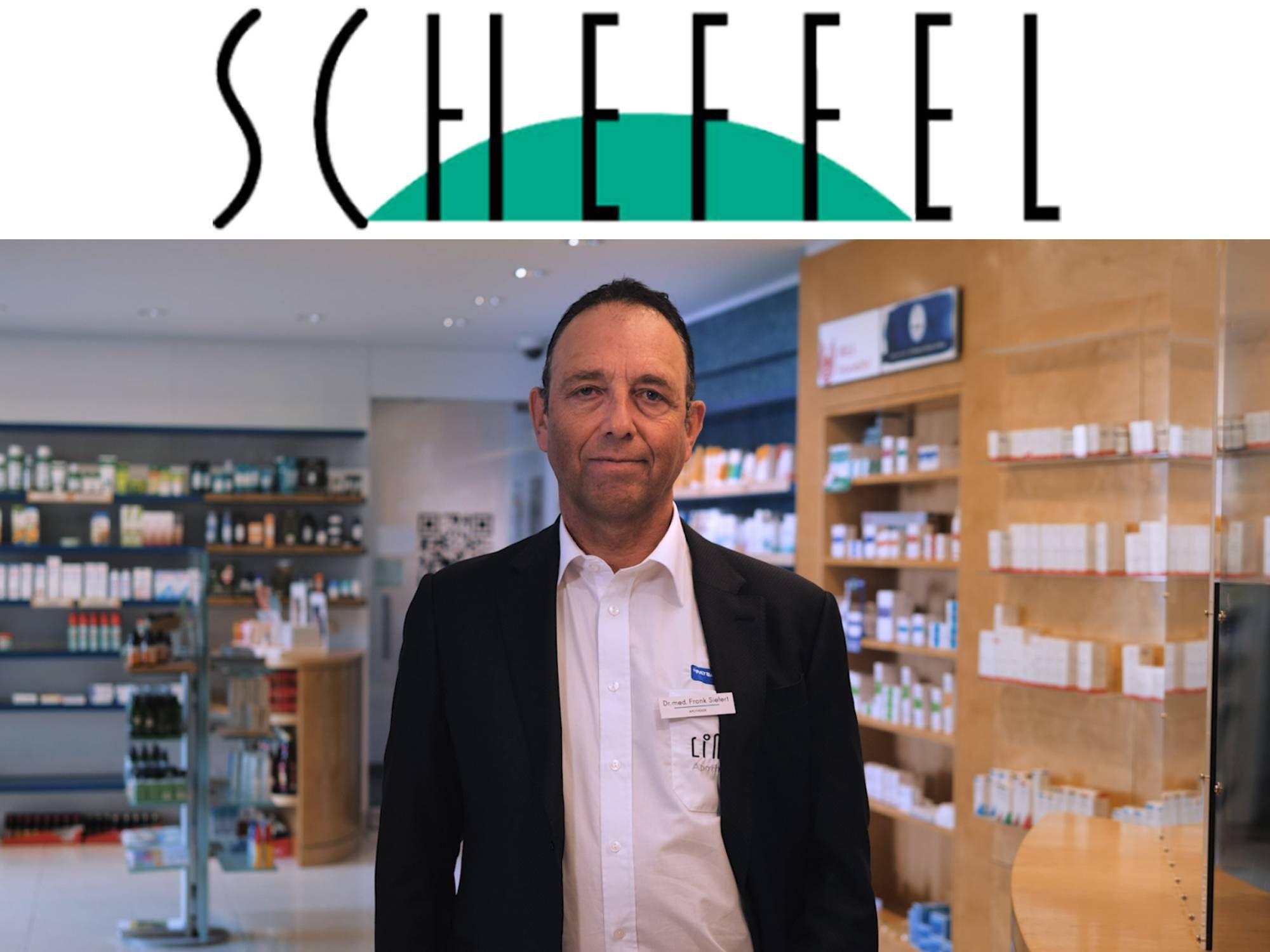 Scheffel-Pharmacie and testo Saveris 2