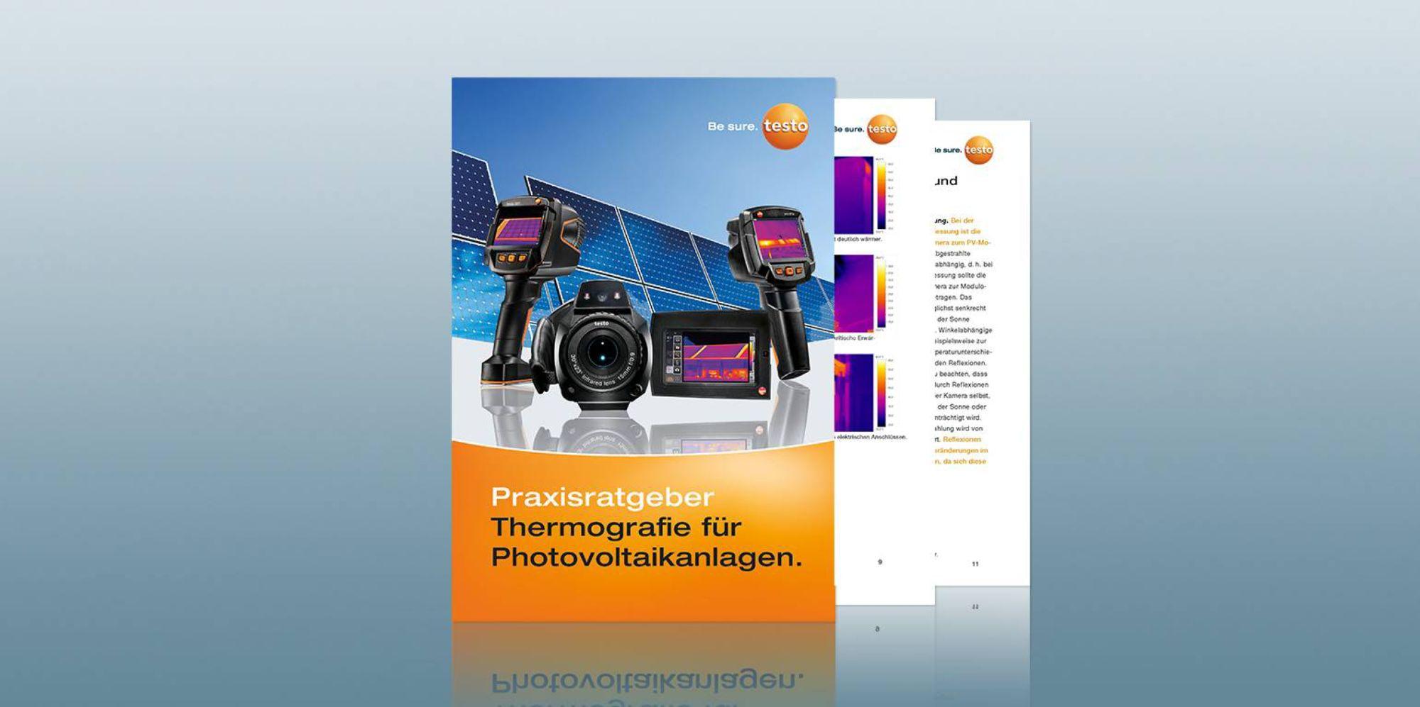 Praxisratgeber Thermografie für Photovoltaikanlagen
