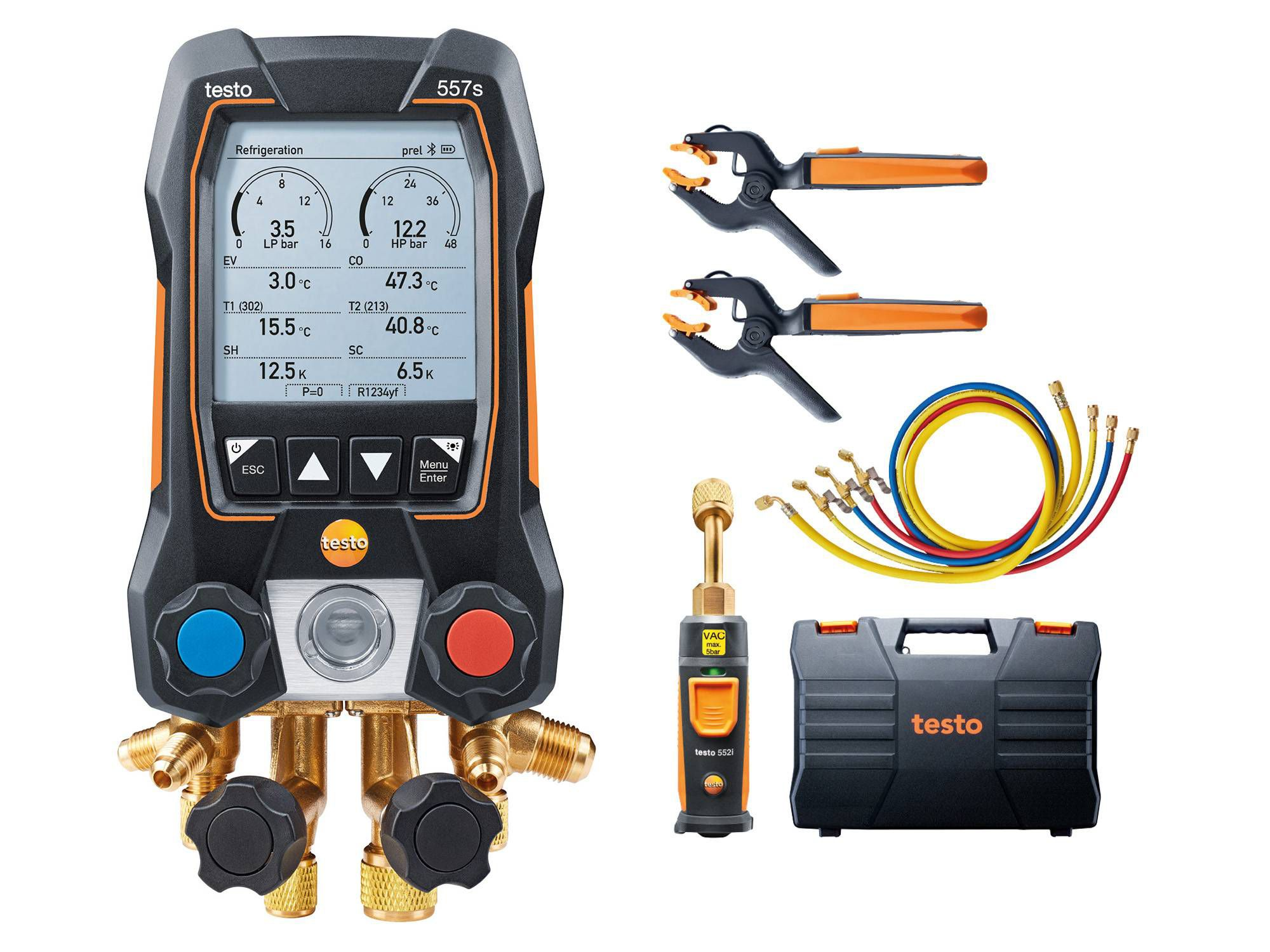 testo 557s smart vacuum kit