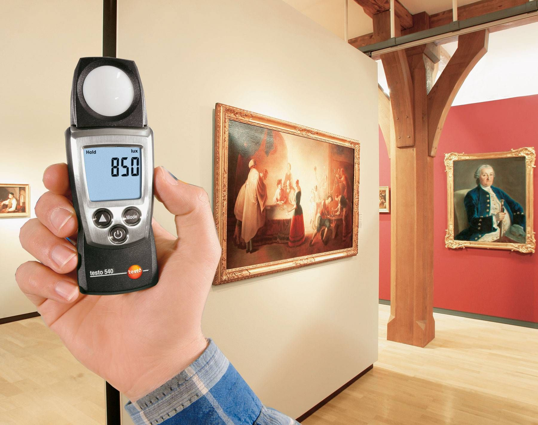 Testo hand-held instruments for indoor climate measurement