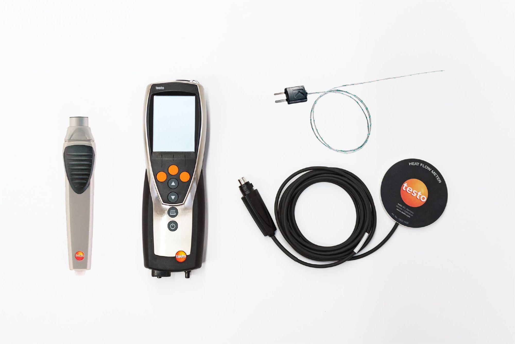 testo 435 termoflussimetro