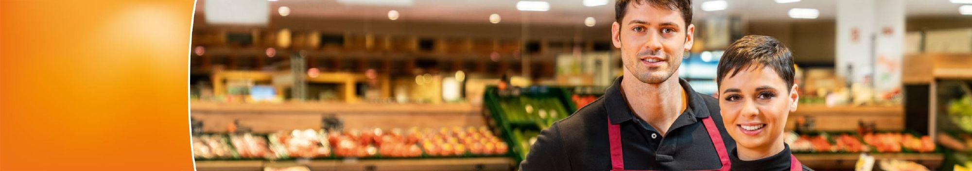 Lebensmittelüberwachung Supermarkt