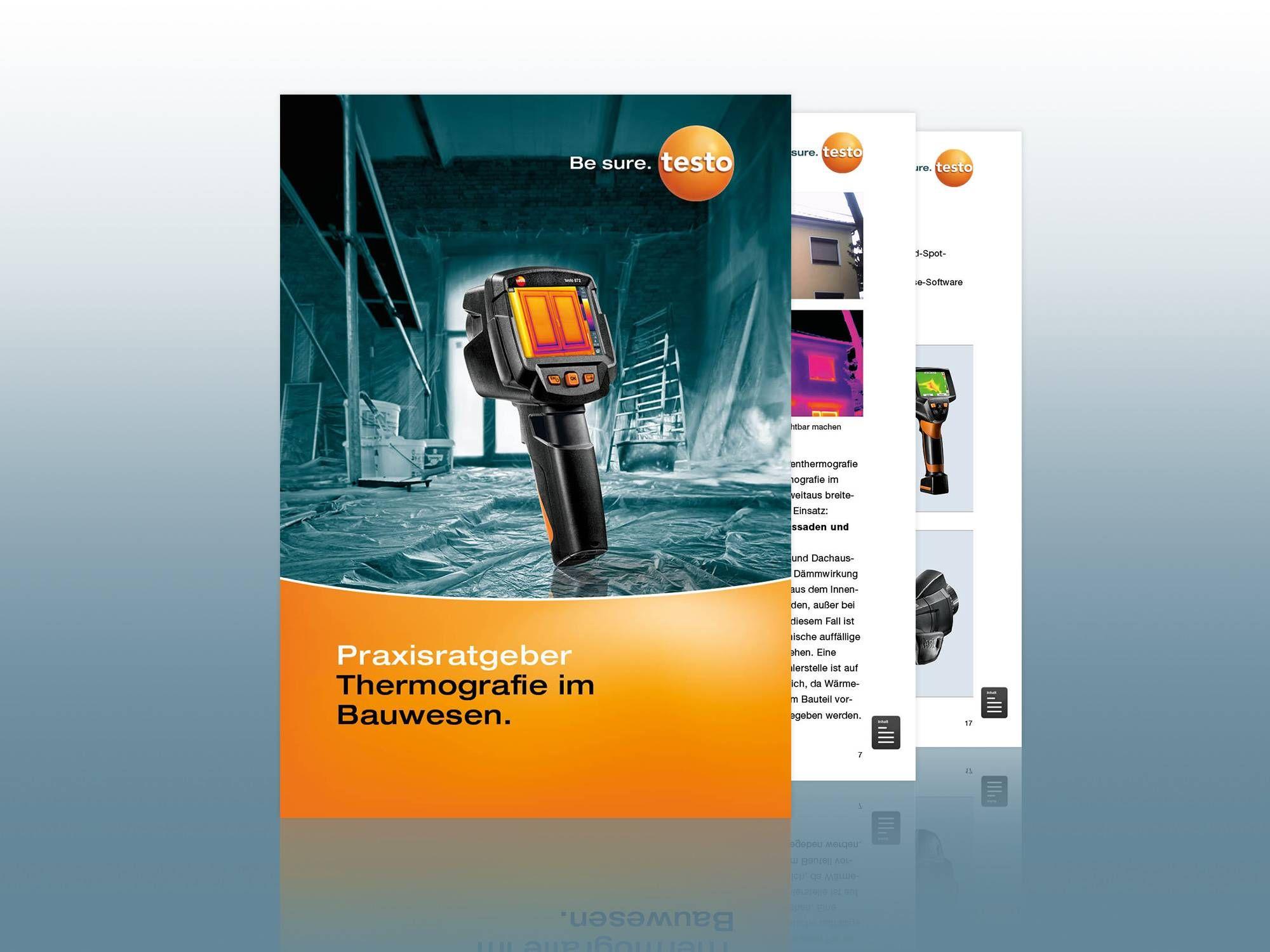 Praxisratgeber Thermografie im Bauwesen