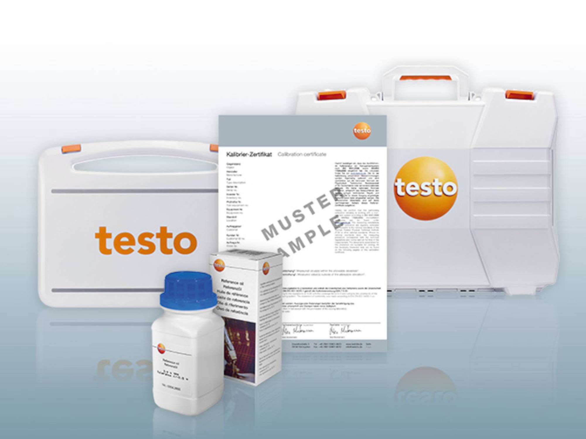 testo270煎炸油品质检测仪附件标定油
