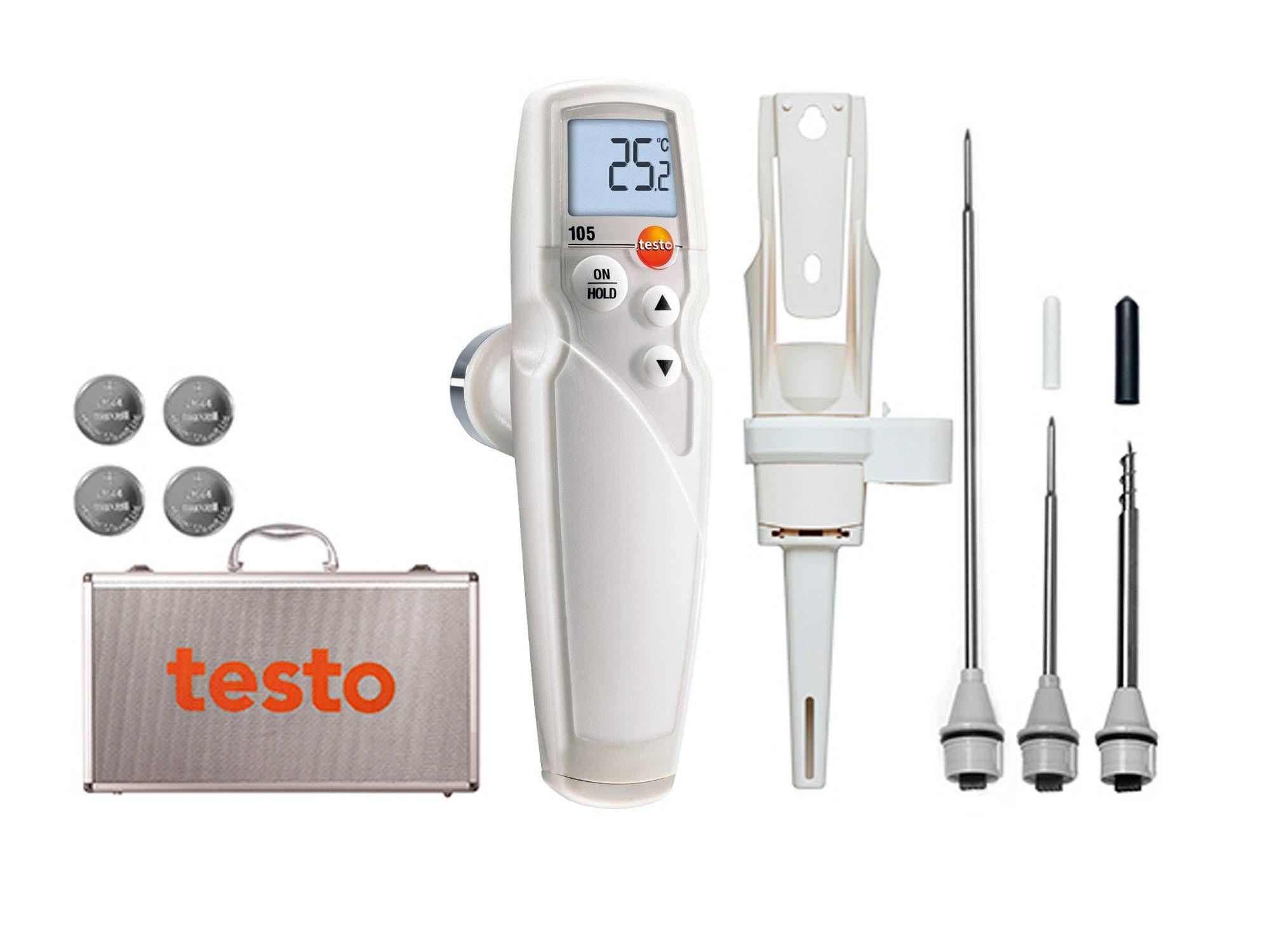 Set completo termómetro testo 105