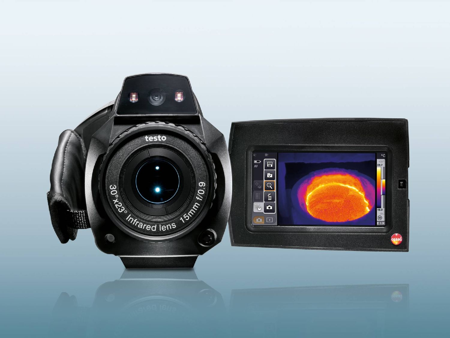 Thermal imager testo 885