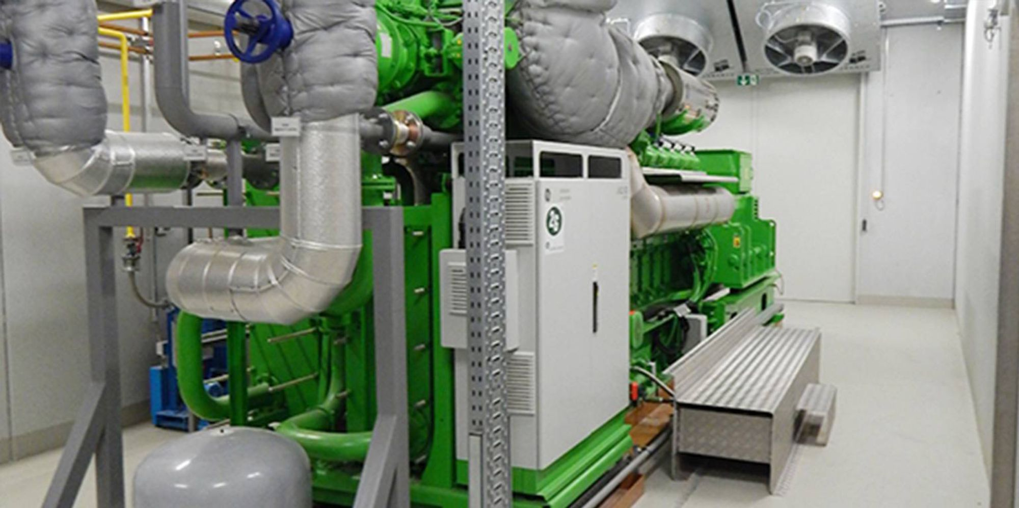 Cogeneration plants
