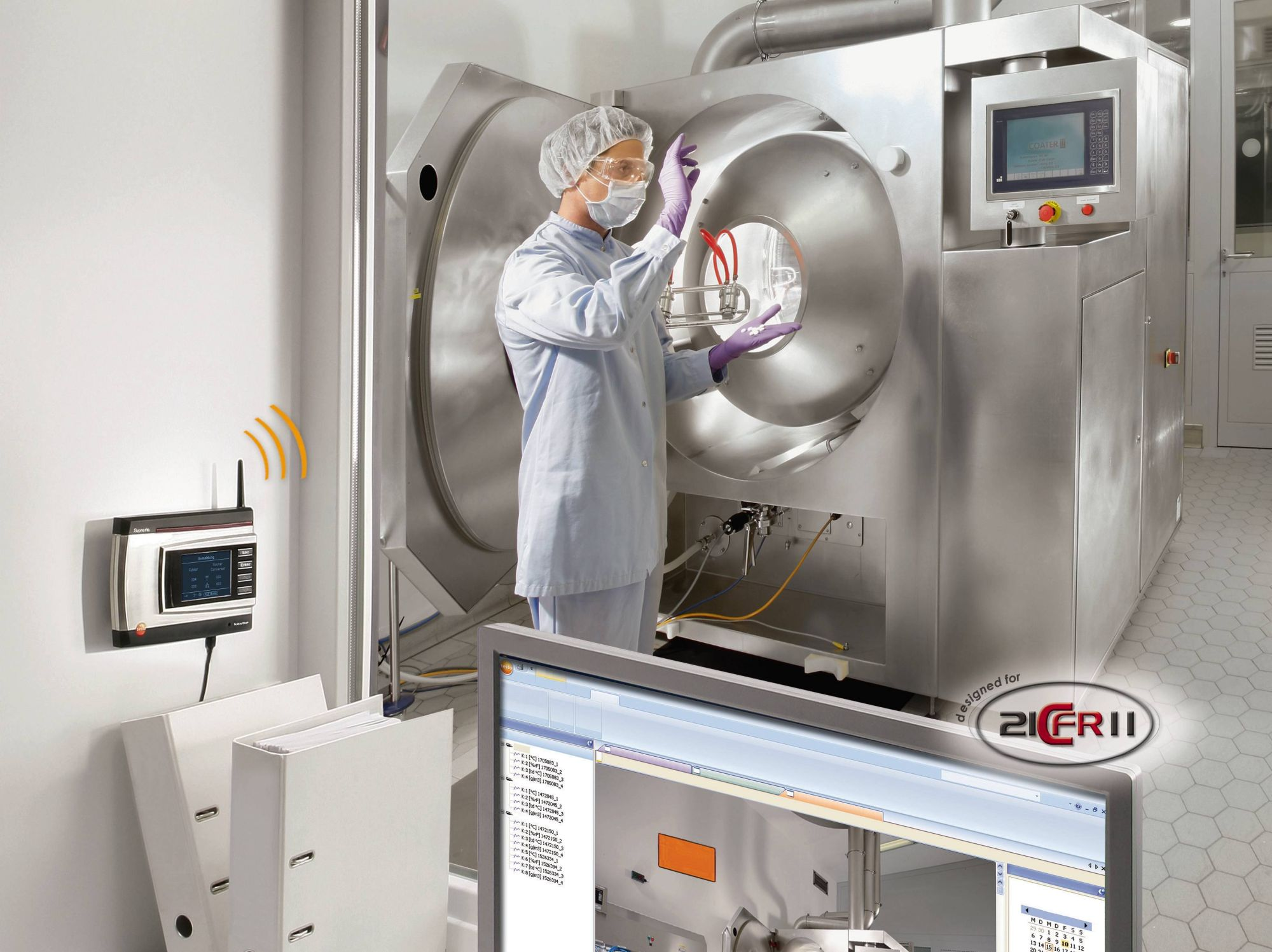Temperature monitoring in the pharmaceutical industry