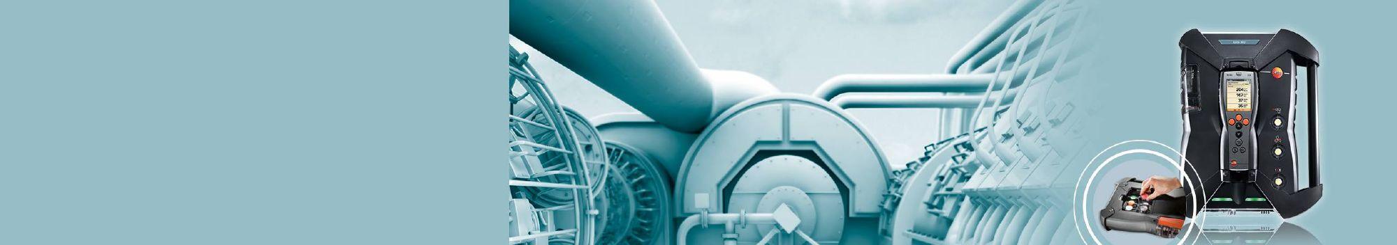 <strong>testo 350 藍色版</strong> <br/>煙氣分析 無懼干擾
