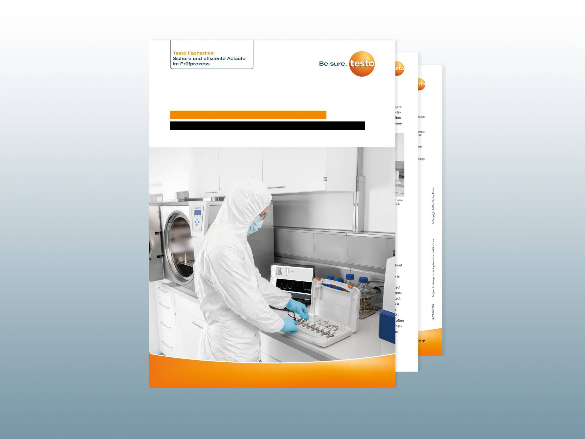 White paper: Validation of steam sterilization