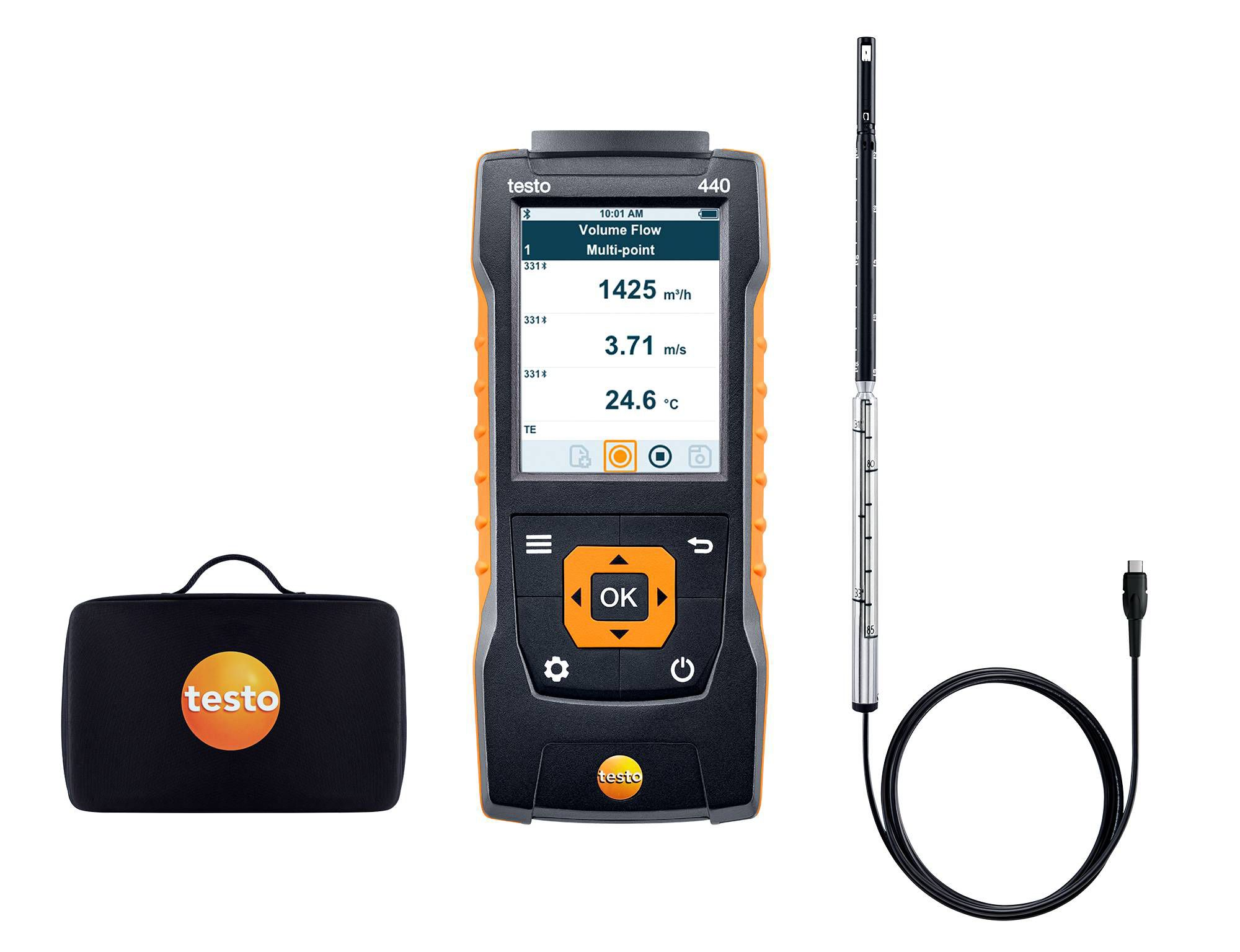 testo 440 Hot Wire Kit